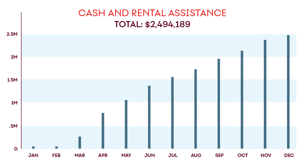 cash and rental chart